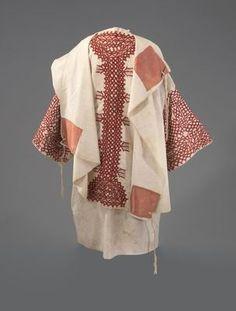 Prayer shawl (tallit)  Tafilalet, Morocco  Early 20th century  Cotton, silk-thread embroidery