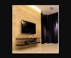 find this pin and more on bedroom wall mounted tv with floating shelves