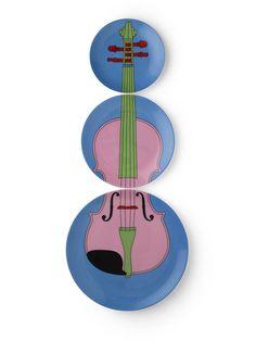 Michael Craig-Martin. Violins, 2012