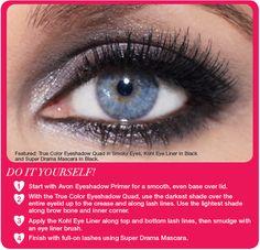 Avon Insider - Beauty School: Smokey Eyes - Buy Avon makeup online at http://angiej.avonrepresentative.com