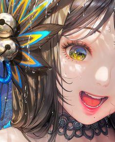 # 창작 Happy Bari in valley Happy valley of Bali - fliers basis 插画 - pixiv Girls Anime, Anime Art Girl, Manga Art, Manga Anime, Anime Wolf, Female Anime, Anime Naruto, Character Illustration, Illustration Art