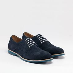 Fancy - Dark Navy Lace Up Derby Shoes by Amsterdam Shoe Co Navy Lace, Lace Up, Shoe Company, Derby Shoes, Well Dressed Men, Dark Navy, What To Wear, Oxford Shoes