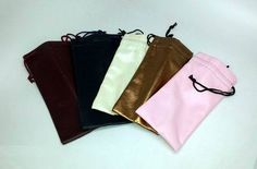 Assorted Colors - Vinyl Drawstring Sunglasses Case Pack 72