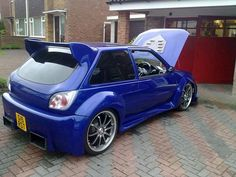 #SouthwestEngines Modified Ford Fiesta RS Turbo 1990