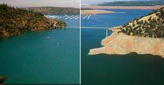 Mira como los efectos del cambio climático en California han provocado la peor sequía y la falta de agua para consumo humano,el estado dorado se quedará sin agua