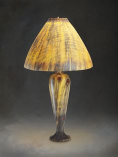 A delightful wood turned lamp and its lampshade also turned from wood art lathe lampshades table lamp norfolk island pine aloadofball Choice Image