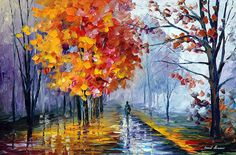 I would like to present my one of a kind original oil painting OCTOBER FOG. This artwork was created long time ago and only today I listed this painting online https://afremov.com/OCTOBER-FOG-ORIGINAL-Oil-Painting-On-Canvas-By-Leonid-Afremov-Size-20x30.html?bid=1&partner=20921&utm_medium=/offer&utm_campaign=v-ADD-YOUR&utm_source=s-offer