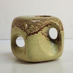 Ceramic vase in organic form. Bertoncello, Italy 1950 - 1955.