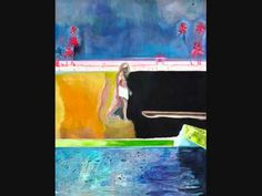 Peter Doig paintings with music