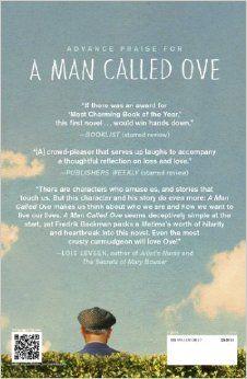 A Man Called Ove: A Novel: Fredrik Backman: 9781476738017: Amazon.com: Books