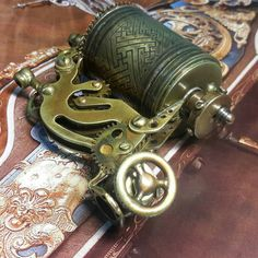 Steampunk tattoo machine