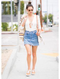 ロングもミニも使える! 真夏のデニムスカート着こなし術 | FASHION | ファッション | VOGUE GIRL