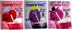 Funny Face Drink Mix gave Kool Aid a run for its money in the early 70s. How many flavors can you name?