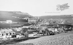 Portland, Castletown From Chesil Beach 1894, from Francis Frith