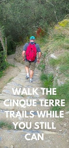 Walking the Cinque Terre Trails is one of the greatest things to do in Italy. The Italian Riviera is a must-see on anyone's trip to Italy. Get in now before limits start to be applied (for good reason)