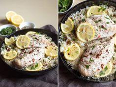Быстрый ужин: лимонный рис с курицей в одной посуде - Лайфхакер