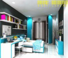 EASY LIVING INDONESIA - Interior Desain & Furniture: DESAIN BEDSET ANAK PEREMPUAN Bp. WASITO - SURABAYA...