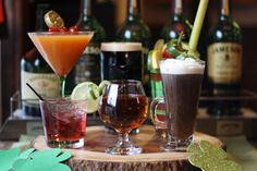 Irish cocktails for St. Patrick's Day