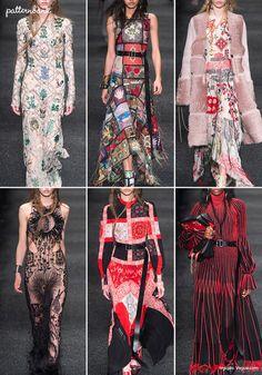 Alexander McQueen – Fall 2017 – RTW – Paris Fashion Week – Print & Pattern Highlight