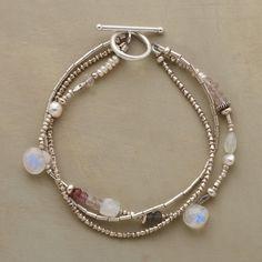 Multi Moonstone Bracelet