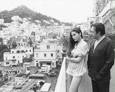 As beauty as a painting | Ornella Muti and Ugo Tognazzi
