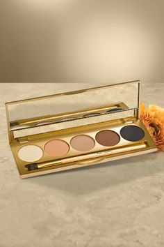 Jane Iredale Daytime Eyeshadow Kit From neutral shades to show-stopping shimmer, you'll enjoy crease-free, stay-put eyeshadow for a lasting look all in one preselected perfectly color matched and blended kit! Available now at The Estheticians Professional Skin and Body Care Center. Available in spa and for shipping.
