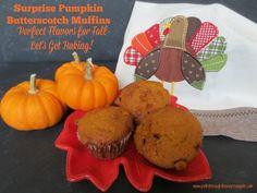Surprise Pumpkin Butterscotch Muffins: Perfect Flavors for Fall - Let's Get Baking!