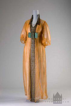 """""""Matinée dress"""" from Salon Max Schulze, Munich, ca. 1910-12."""