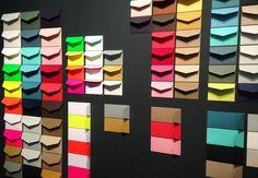 Stand de « Le Typographe » la papeterie belge, à Maison et Objet 2015 http://www.typographe.be/