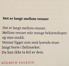 dikt til min kj?re