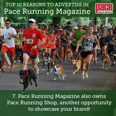 Top 10 Reasons to Advertise in Pace Running Magazine: Number Pace Running, Running Magazine, Number 7, Advertising, Top, Crop Shirt, Shirts