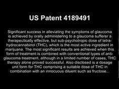 Health Benefits – Cannabinoid Patents