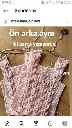 Knit Baby Sweaters, Baby Knitting Patterns, Crochet Top, Crochet Ideas, Women, Knit Jacket, Long Scarf, Knitting And Crocheting, Crochet Slippers
