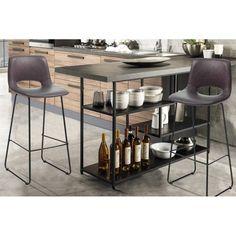 LEONEL design bárszék - barna Bar Chairs, Chair Design, Modern, Table, Furniture, Home Decor, Bar Stool Chairs, Trendy Tree, Decoration Home
