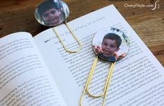 This photo bookmark clip is one of the most inexpensive projects ever!