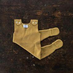 Organic Merino Knit Romper - Gold - 0-6m – MamaOwl