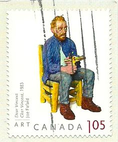 'Dear Vincent' by Joe Fafard (Postage Stamp from Canada)