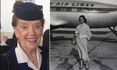 The story of this 80-year-old flight attendant is purely inspirational.