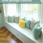 Building a Window Seat with Storage DIY Project