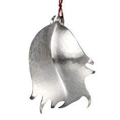 719d9efb7 Hollyleaf by Abigail Brown #Christmas #ChristmasDecorations #Xmas  #XmasDecorations #Silver #ChristmasTree