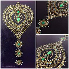 Hand embellished  Close up detail  Handmade by shafina Ali