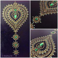 Hand embellished  Close up detail  Handmade by shafina Ali