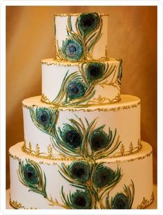 If I could make fancy cakes I'd make you this for your wedding cake <3 @Ashley Walters Everett