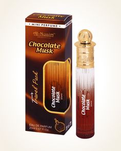 Al Nuaim Chocolate Musk parfémová voda 20 ml 20 Ml, Perfume, Chocolate, Coffee, Drinks, Kaffee, Drinking, Beverages, Chocolates