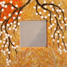 Picture of stained glass mosaic mirror