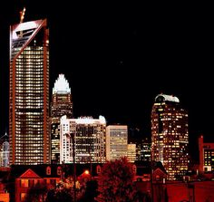 Have you seen this view from the 8th floor of our parking garage? Uptown Charlotte | Charlotte NC