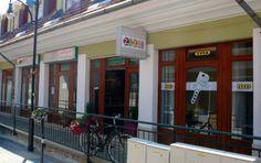 Zazzi cukrászda 1037 Budapest, Bécsi út 57-61. keddtől vasárnapig 10-18 Budapest, Drink, Places, Outdoor Decor, Food, Home Decor, Beverage, Lugares, Interior Design
