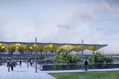 grimshaw architects: pulkovo airport phase 1 nears completion - designboom | architecture