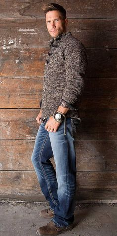 J.B. Holt Branton Lincoln Henley Sweater - Men's Sweaters | Buckle