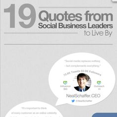 19 Social Media Quotes for Business [INFOGRAPHIC] #socialmedia